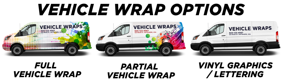 Conroe Vehicle Wraps vehicle wrap options