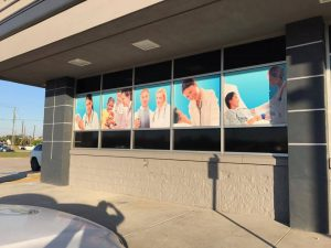 window graphics for service providers