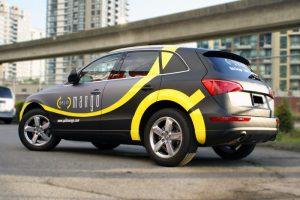 Houston Car Wraps Mango vehicle car Wrap 300x200