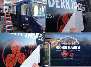 Houston Car Wraps custom vinyl vehicle wrap installation graphics 300x221